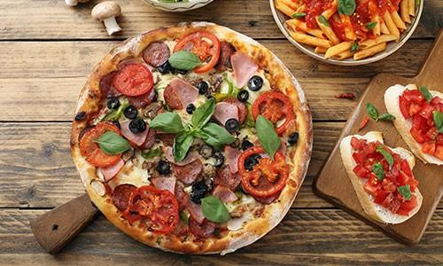 CityGames Leipzig JGA Frauen Tour: Special Pizza Pasta Antipasti