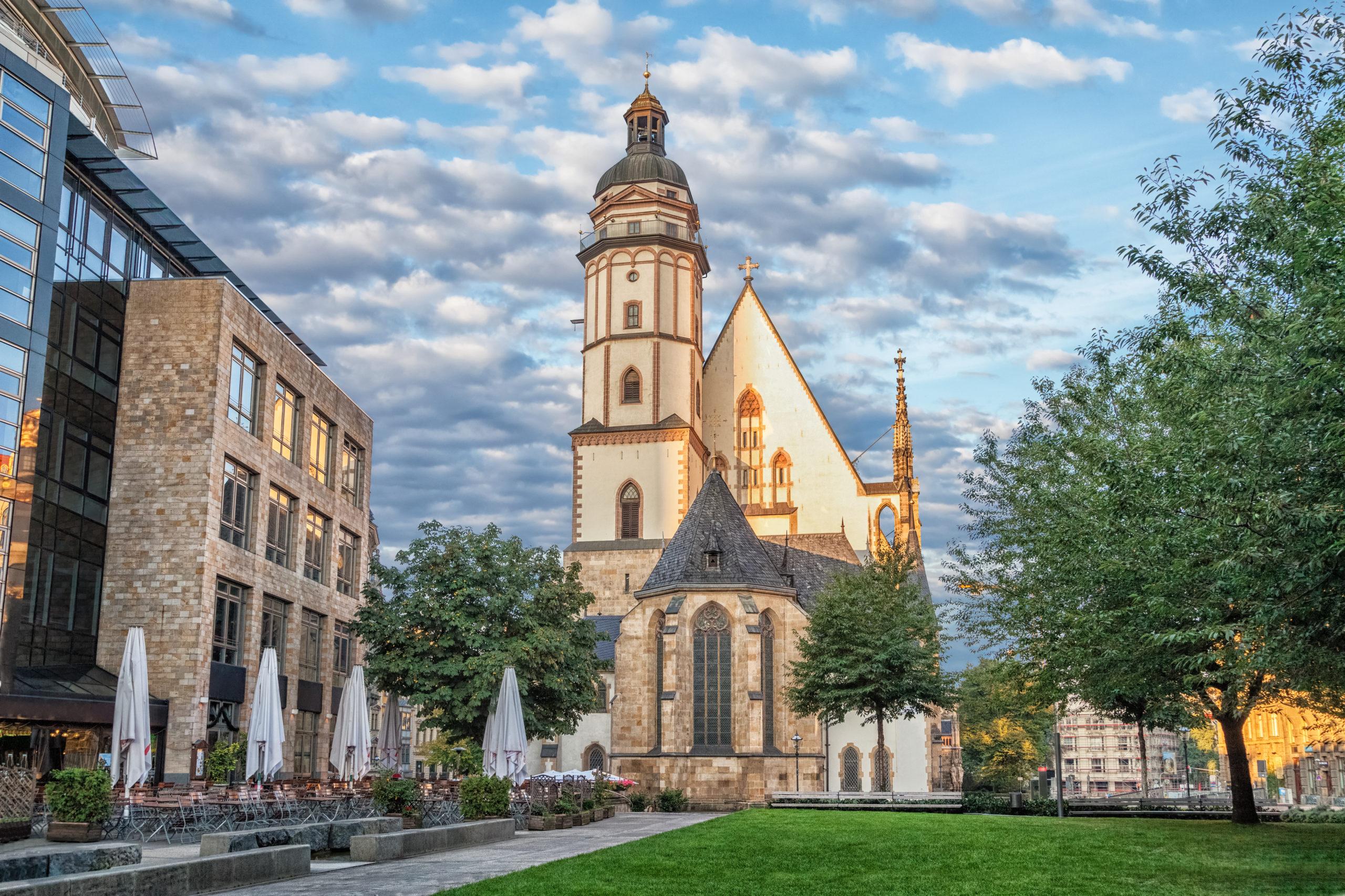 Saint Thomas Kirche in Leipzig