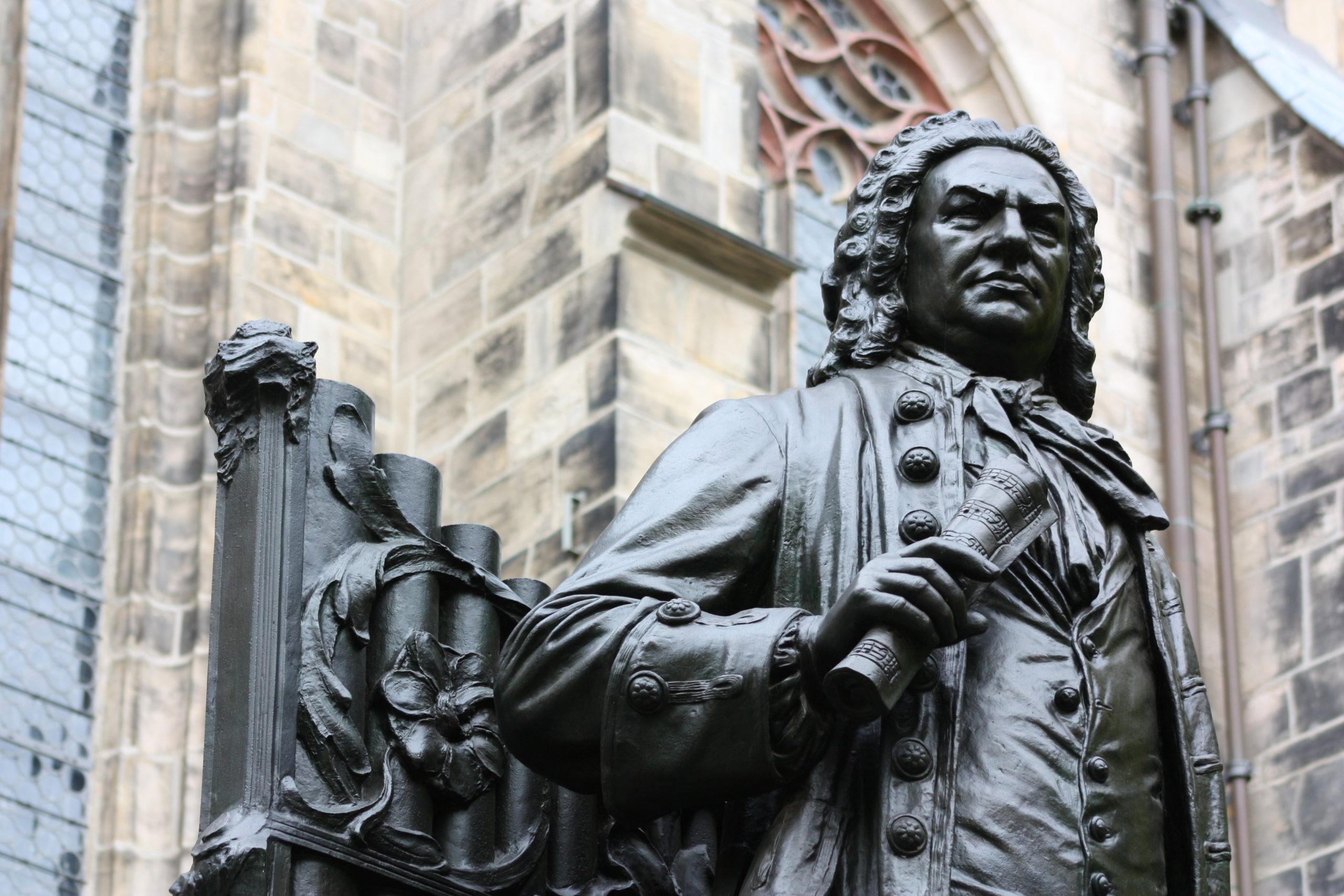 Neues Bach-Denkmal in Leipzig