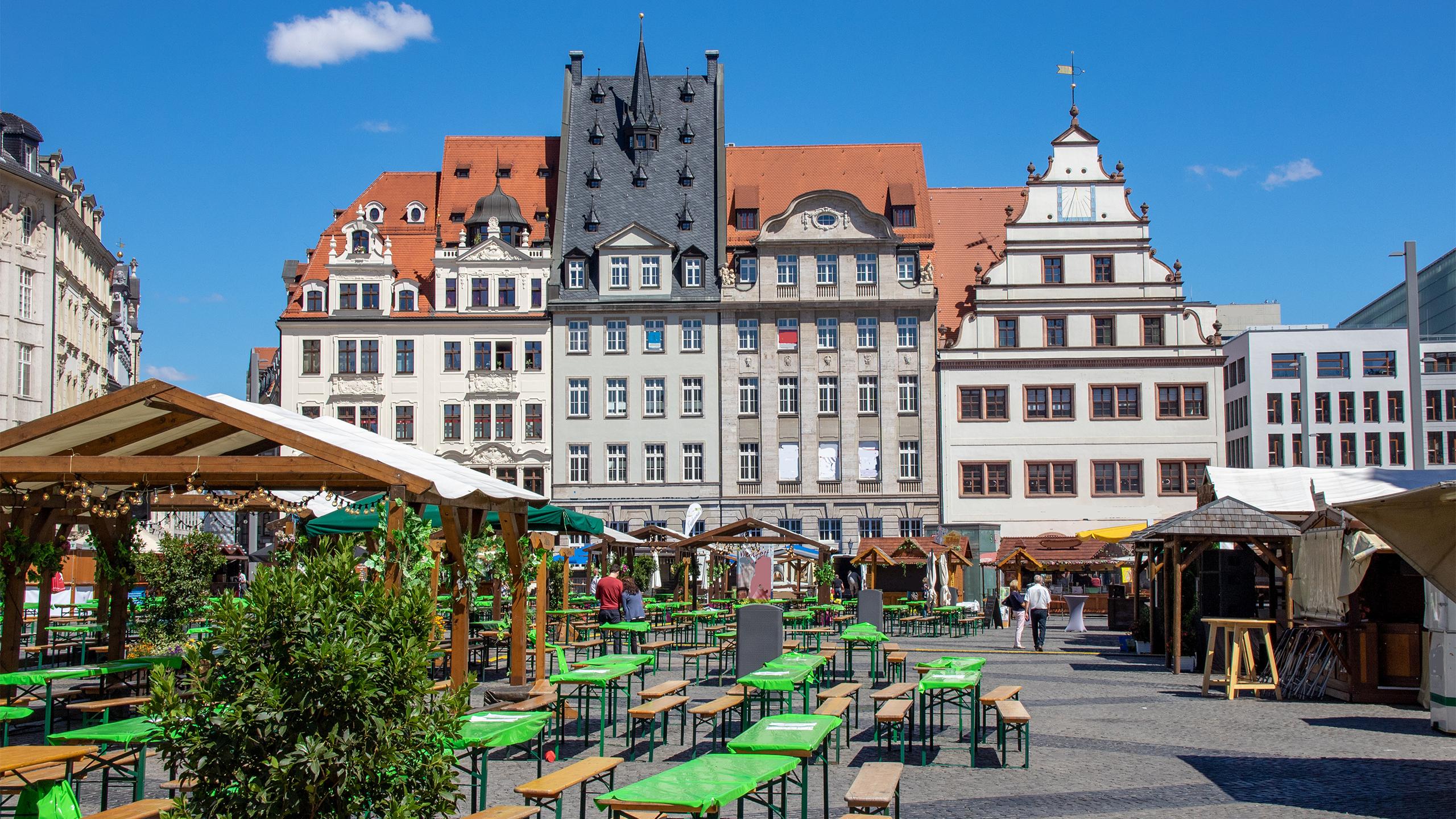 Historischer Marktplatz - Leipzig