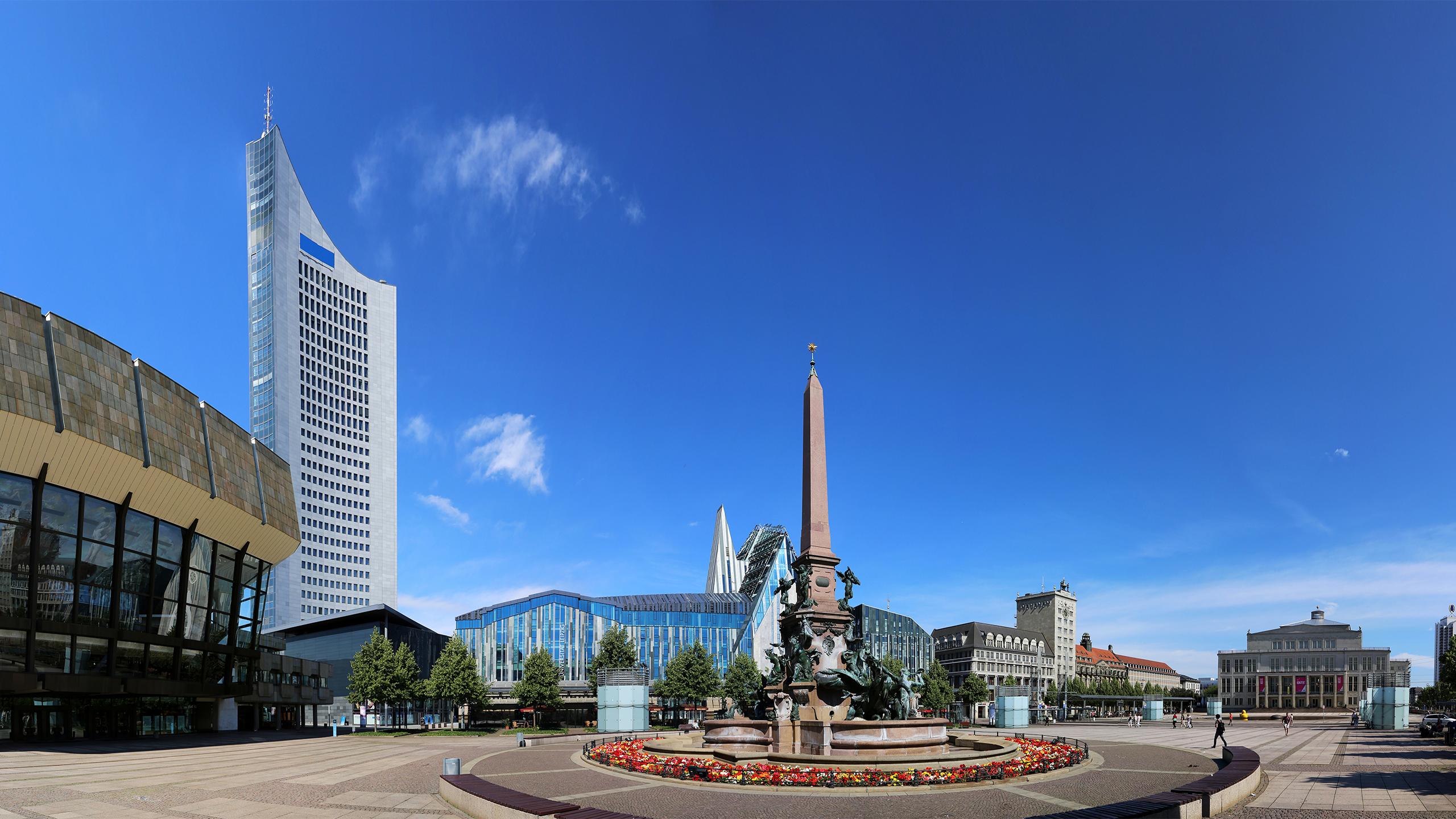 Stadtansicht - Leipzig Innenstadt